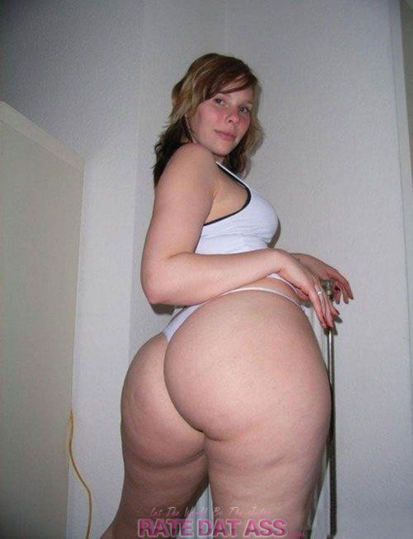 Big girl nackt booty white