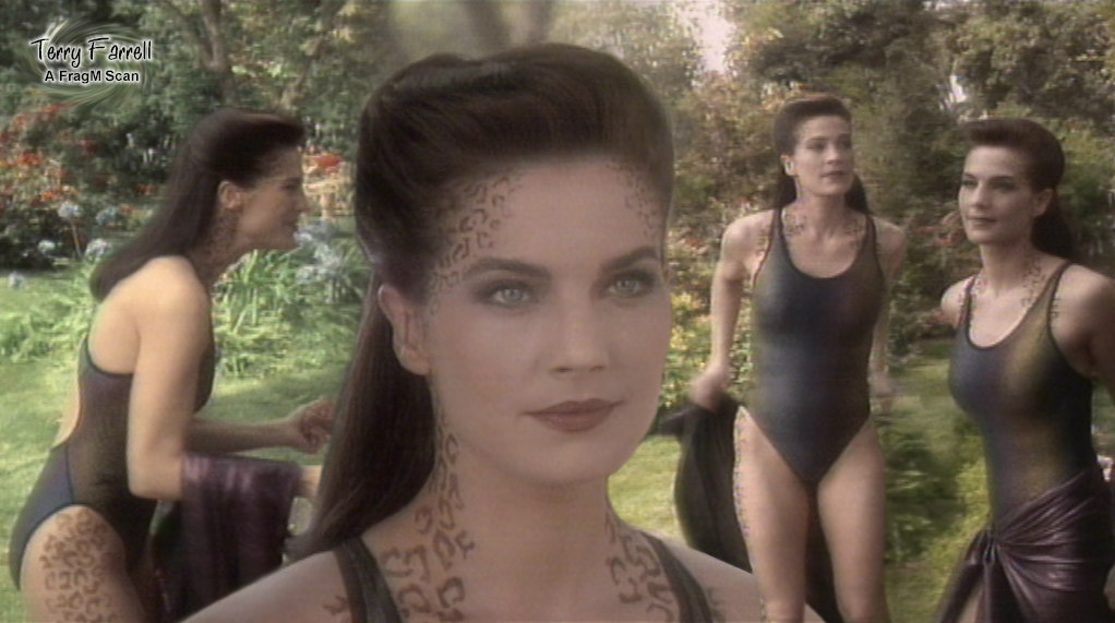 Trek terry farrell nude star