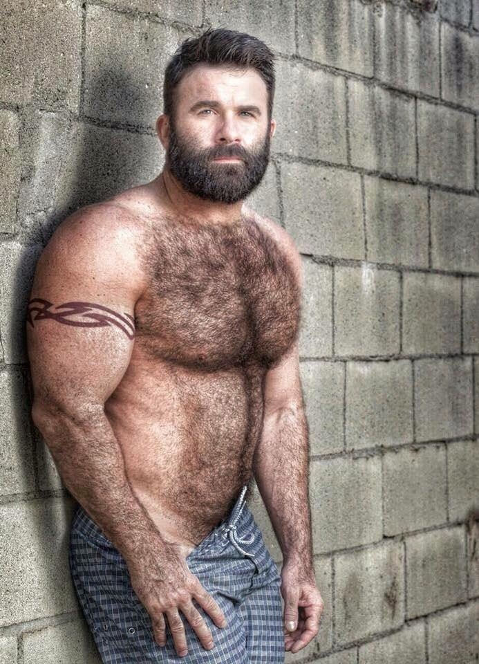 tumblr hairy Muscle naked men