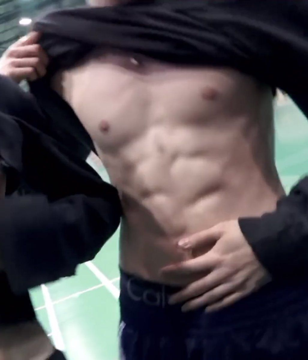 Jungs hot abs skinny naked