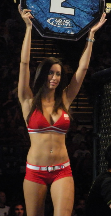 Hot ufc ring girl edith labelle