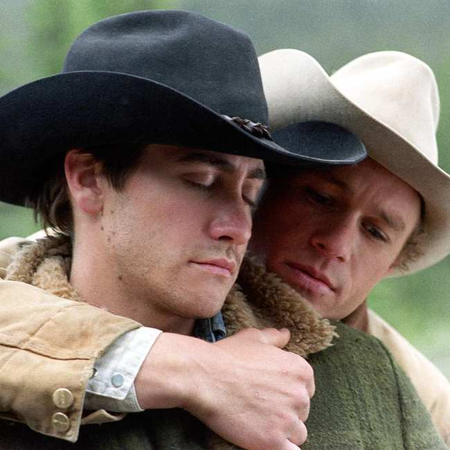 Nackt auf mountain heath ledger brokeback