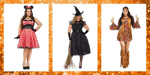 Size frauen fur plus halloween kostume