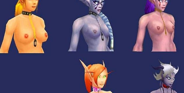 Skins world nude of warcraft