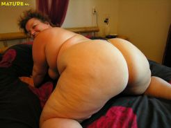 Bbw fat reife ass big