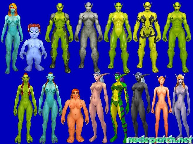 patch of warcrat world Nude