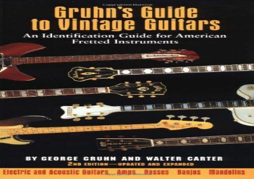 S guide vintage gruhn to