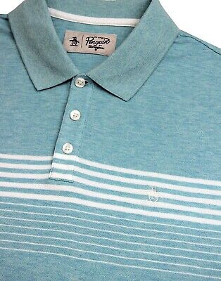 Gestreiftes von pole polo shirt blau south