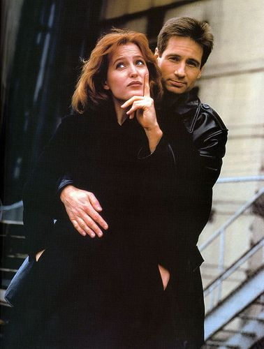 sexy scully moulder und Poster