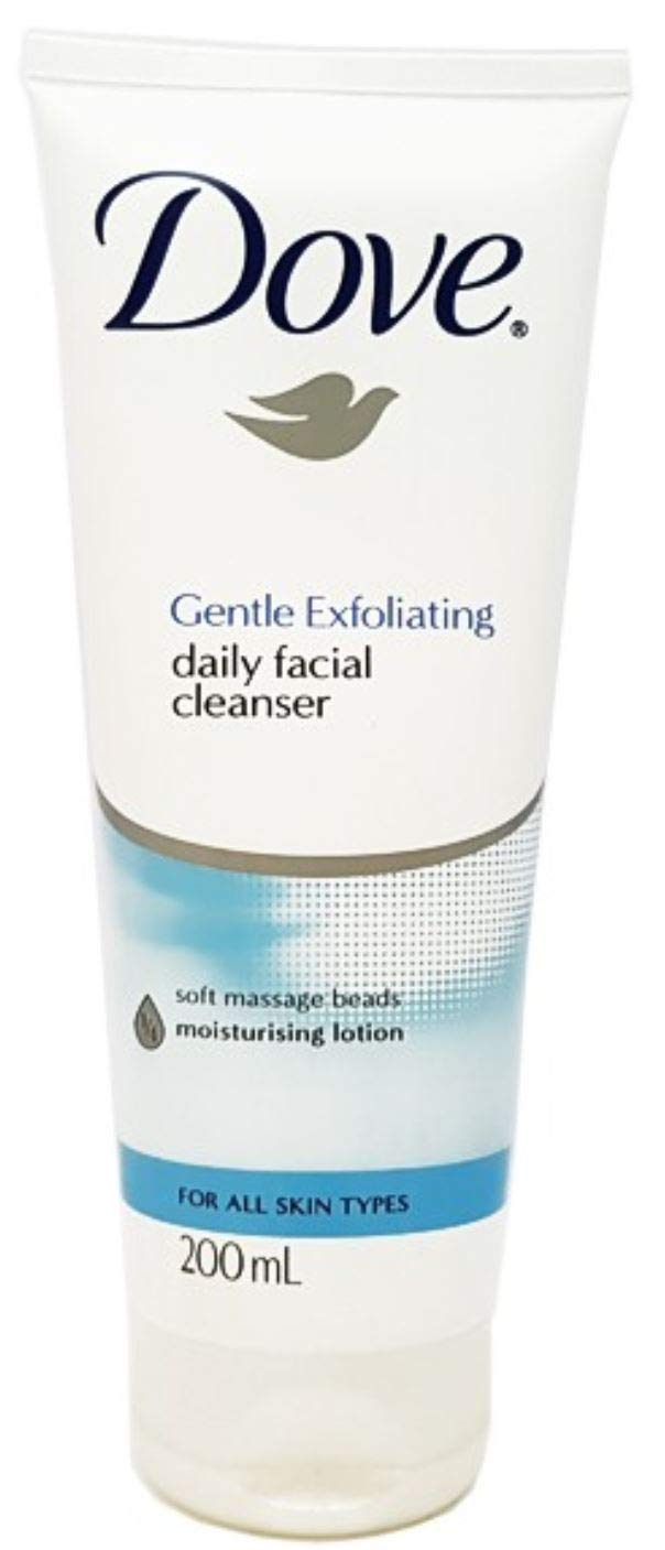 Daily cleanser facial gentle dove exfoliating