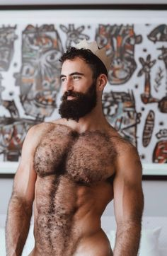 Muscle men hairy tumblr naked