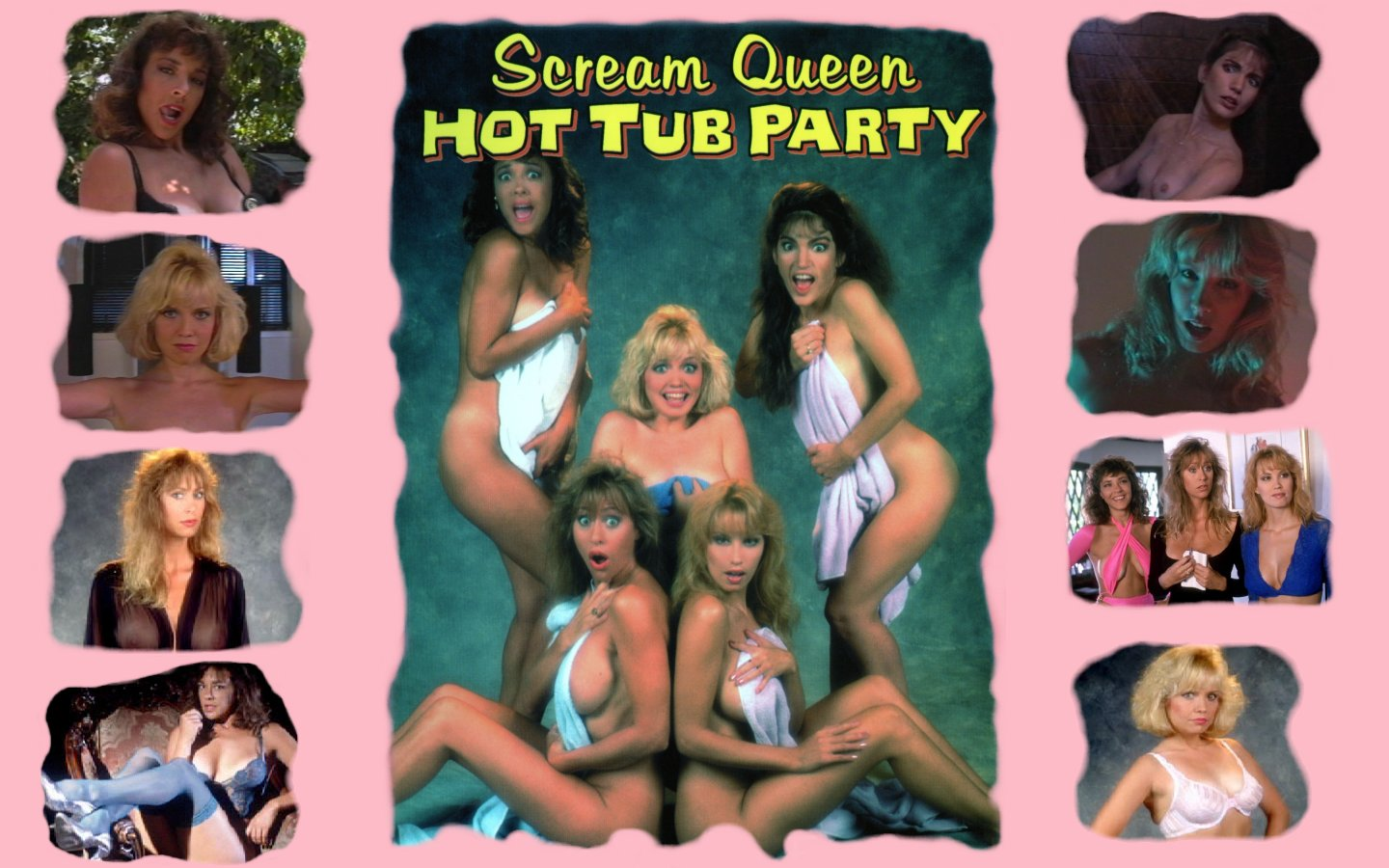 tub queen hot scream Party hollywood
