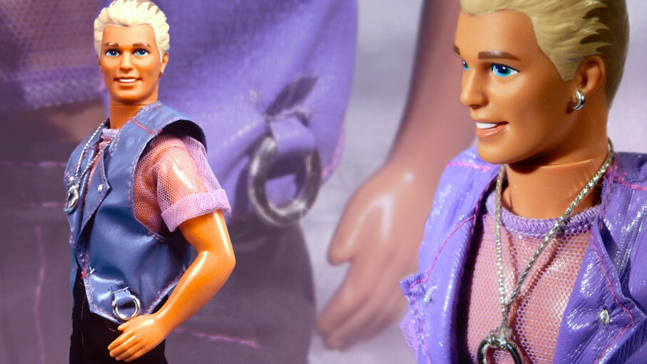 Sex und black barbie ken